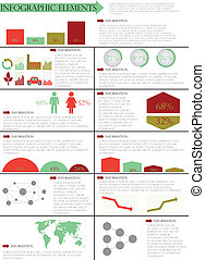 info graphic vector illustration - Detail info graphic...