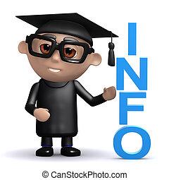 info, hat, 3d, staffeln