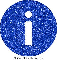 Info Icon Grunge Watermark