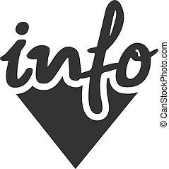 info indication symbol