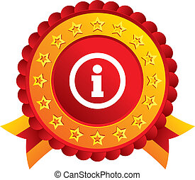 info, information, icon., symbol., tegn