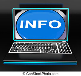 Info On Laptop Meaning Computer Knowledge Information And Assistance Online