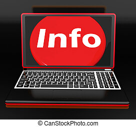 Info On Laptop Meaning Help Knowledge Information And Assistance Online