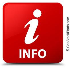 Info red square button