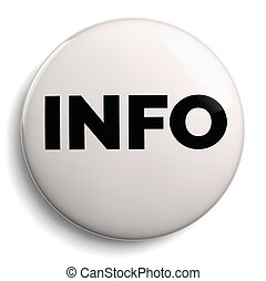 Info Round White Symbol Icon