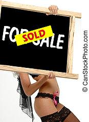 info, sinal, vendido