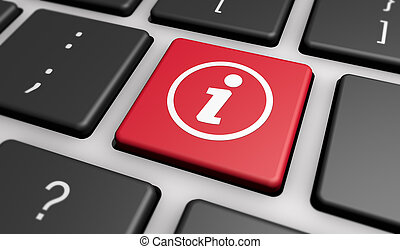 Info Symbol Online Information Computer Button - Info symbol...
