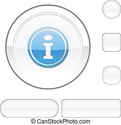 Info white button.