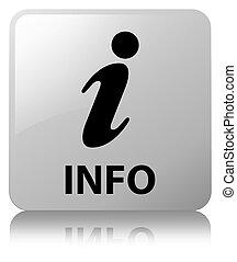 Info white square button