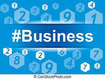 infographic, éléments conception, -, business
