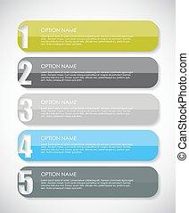 infographic, éléments, illustration affaires, vecteur, conception, ton
