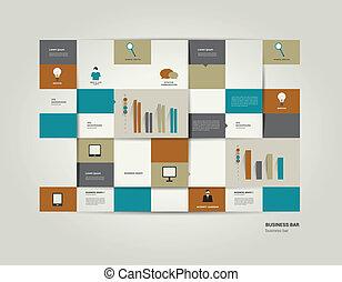 infographic, διαμέρισμα , bar.