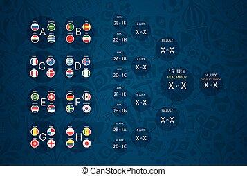 infographic, ποδόσφαιρο , πρωτάθλημα , μικροβιοφορέας , φόρμα , ημερολόγιο , scheme.