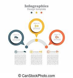 infographic, σχεδιάζω , φόρμα , με , γλώσσα , για , δικό σου...