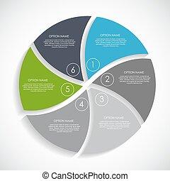 infographic, テンプレート, ∥ために∥, ビジネス, ベクトル, illustration., eps10