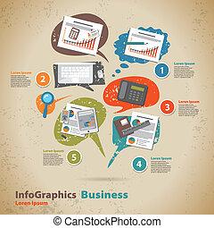 infographic, テンプレート