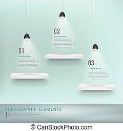 infographic, デザイン, テンプレート, 創造的