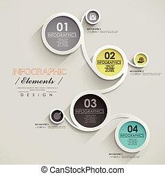 infographic, デザイン, ビジネス, テンプレート