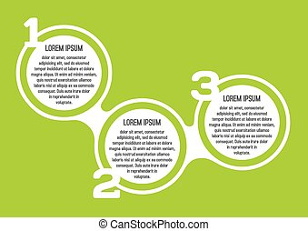 infographic, デザイン, 123, 要素