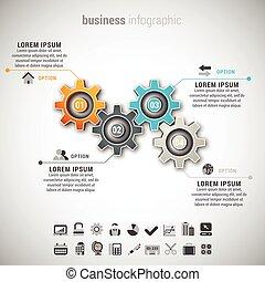 infographic, ビジネス