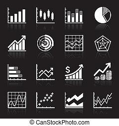 infographic, ビジネス, icons.