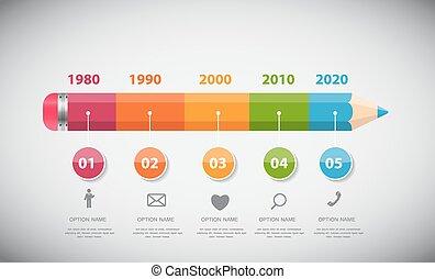 infographic, ベクトル, イラストビジネス, テンプレート