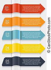 infographic, ベクトル, ビジネス, テンプレート, イラスト