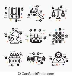 infographic, 法学