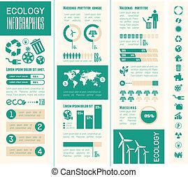 infographic, 生態學, template.
