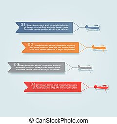 infographic, 要素, icons., ベクトル, デザイン, テンプレート