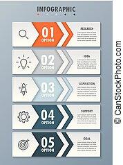 infographic, 5, мода, современное, options