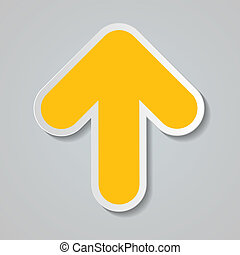 Infographic Arrow Icon. Vector Illustration.