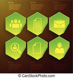 infographic, begriff, design, geschaeftswelt