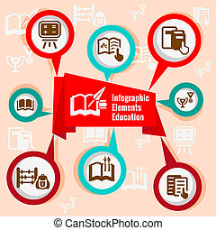 infographic concept education