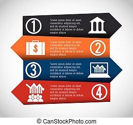 infographic, desenho, ícone
