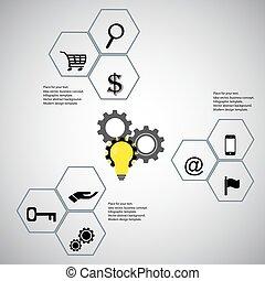 Infographic design elements concept