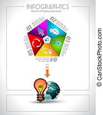 Infographic design - original paper