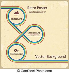 Infographic design template. Vector