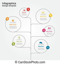 Infographic design template. Vector illustration.