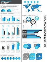 infographic, dettaglio