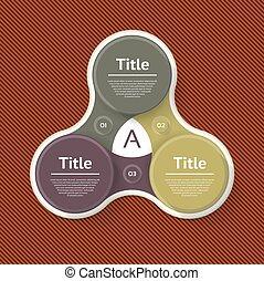 infographic, diagrama, procesos, concepto, empresa / negocio...