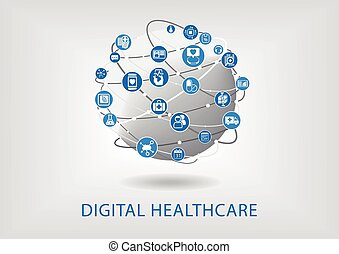 infographic, digital, healthcare