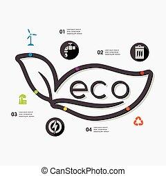 infographic, ecologia