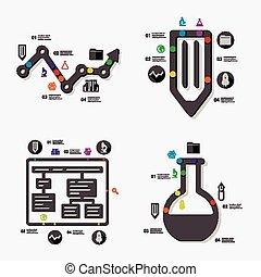 infographic, educação