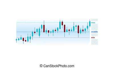 Candlestick Chart Animation is an infographic element on an alpha channel in blue color. It is easy to use and can be quickly added in to your presentations, slideshows and promo videos.