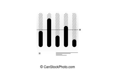 Column Chart Animation is an infographic element on an alpha channel in monochrome color. It is easy to use and can be quickly added in to your presentations, slideshows and promo videos.