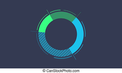 Infographic Element - Donut Chart - Donut Chart Animation is...