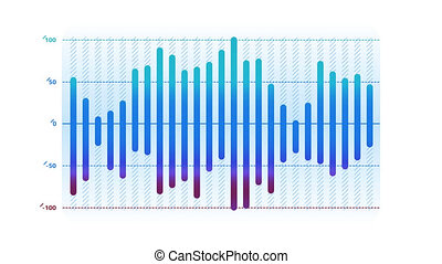 Histogram Animation is an infographic element on an alpha channel in blue color. It is easy to use and can be quickly added in to your presentations, slideshows and promo videos.