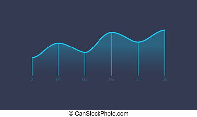 Line Chart Animation is an infographic element on an alpha channel in blue, green and pink color. It is easy to use and can be quickly added in to your presentations, slideshows and promo videos.