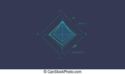 Infographic Element - Rhombus Scheme - Rhombus Scheme is an...